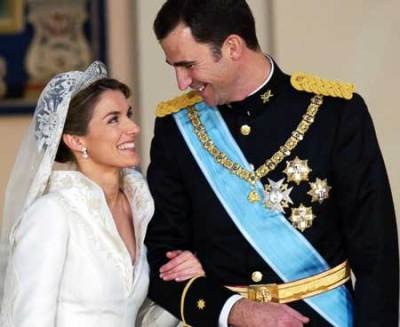 Royal wedding prince felipe and princess letizia wedding