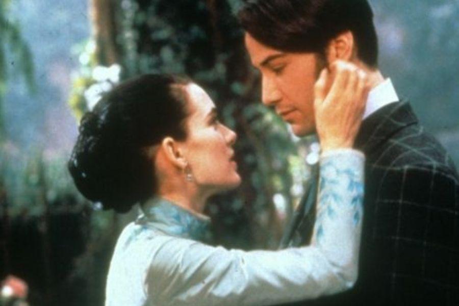 Mina y Harker casados en la ficción y en la realidad.