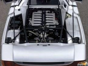 1991 Mercedes Benz C112 engine