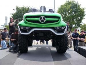 2011 Mercedes-Benz Unimog Concept 10