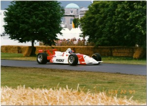 Emerson Fittipaldi 1996 Penske Mercedes PC25 Champcar. Goodwood Festival of Speed 1997 1