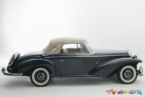 1955 Mercedes-Benz 300 S Cabriolet by Pininfarina 10