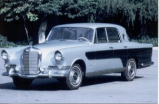 Mercedes-Benz 300c Berlina designed by Ghia 4