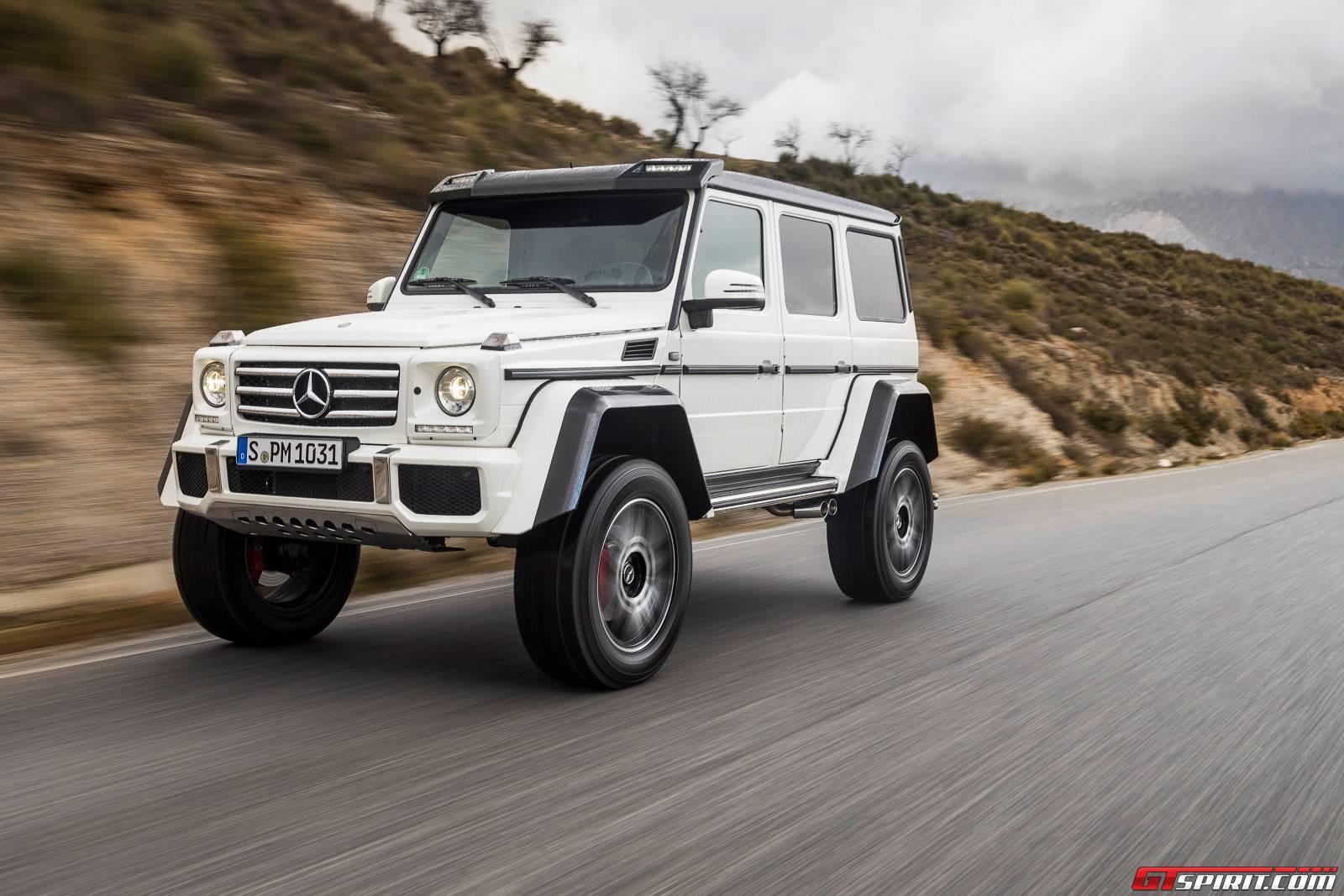 Mercedes benz g class g500 4x4 27