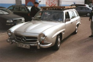 Mercedes-Benz W123 190SLT 15