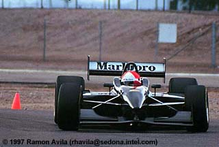 Mercedes-Benz Penske PC27 9 test car 4