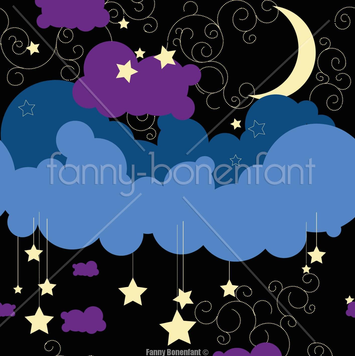 Un motif pour aider à s'endormir : A little bedtime