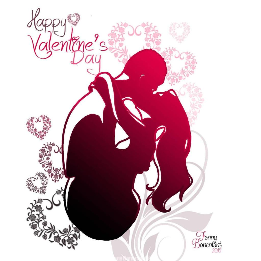 Joyeuse Saint Valentin - Happy Valentine's Day Fanny Bonenfant Alsace illustration