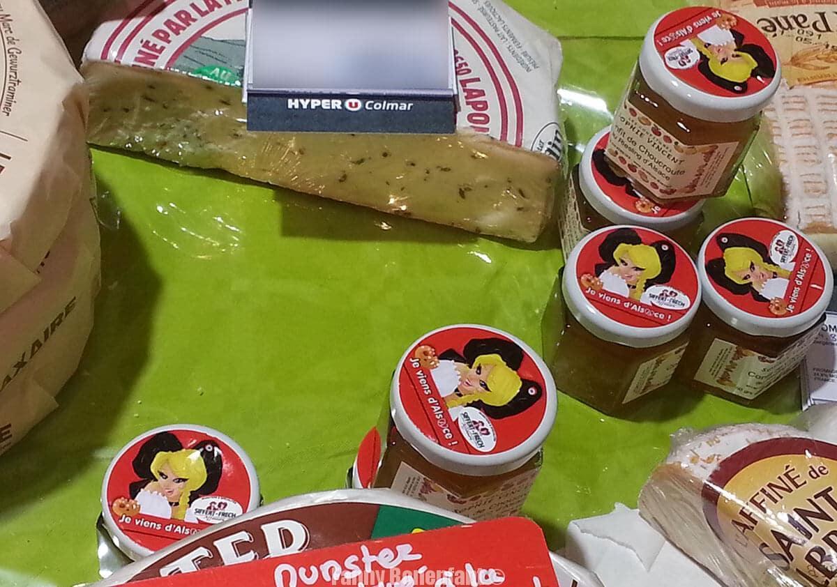 Étiquette «Je viens d'Alsace» chez Hyper U !