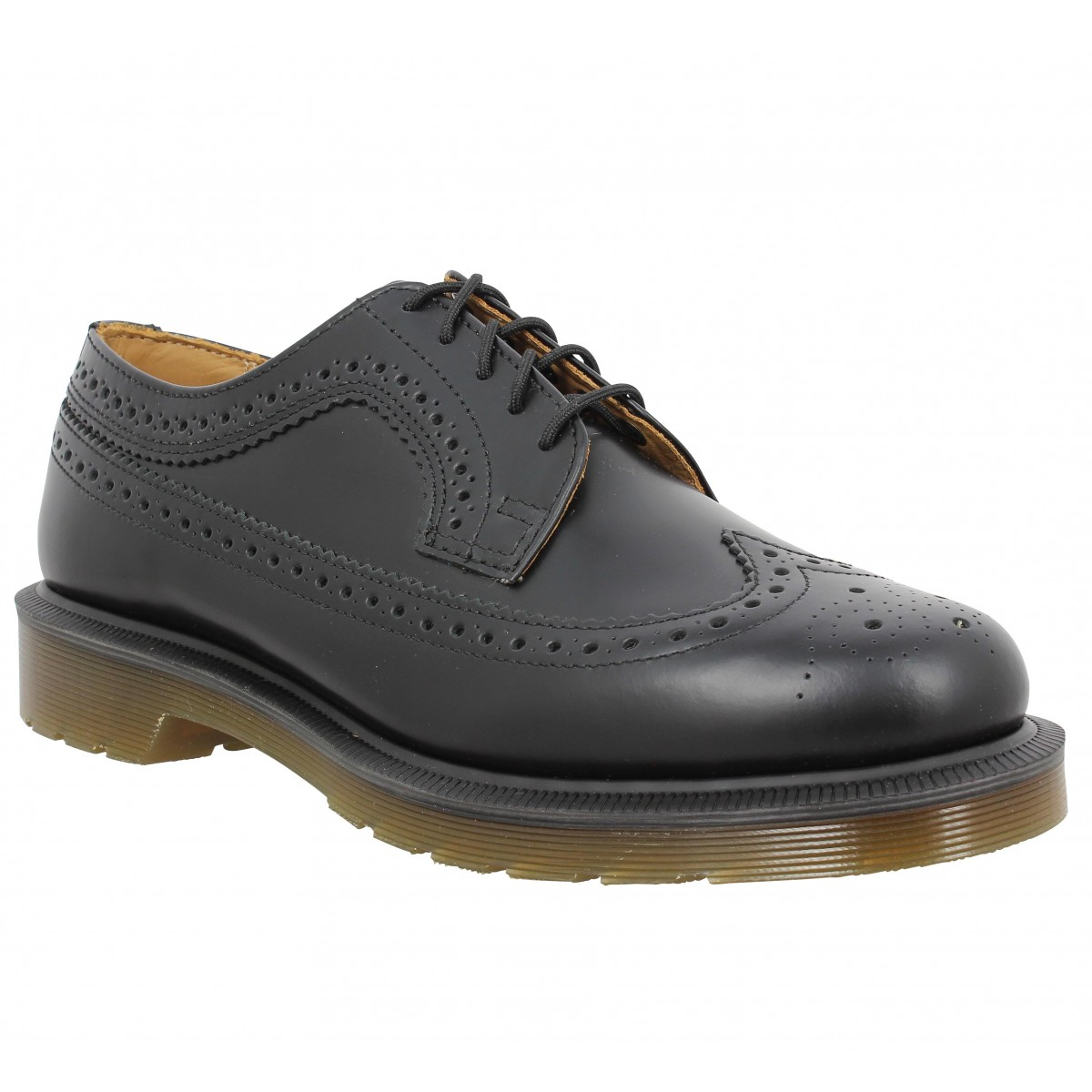 Dr Martens 3989 Smooth Noir Homme Fanny Chaussures