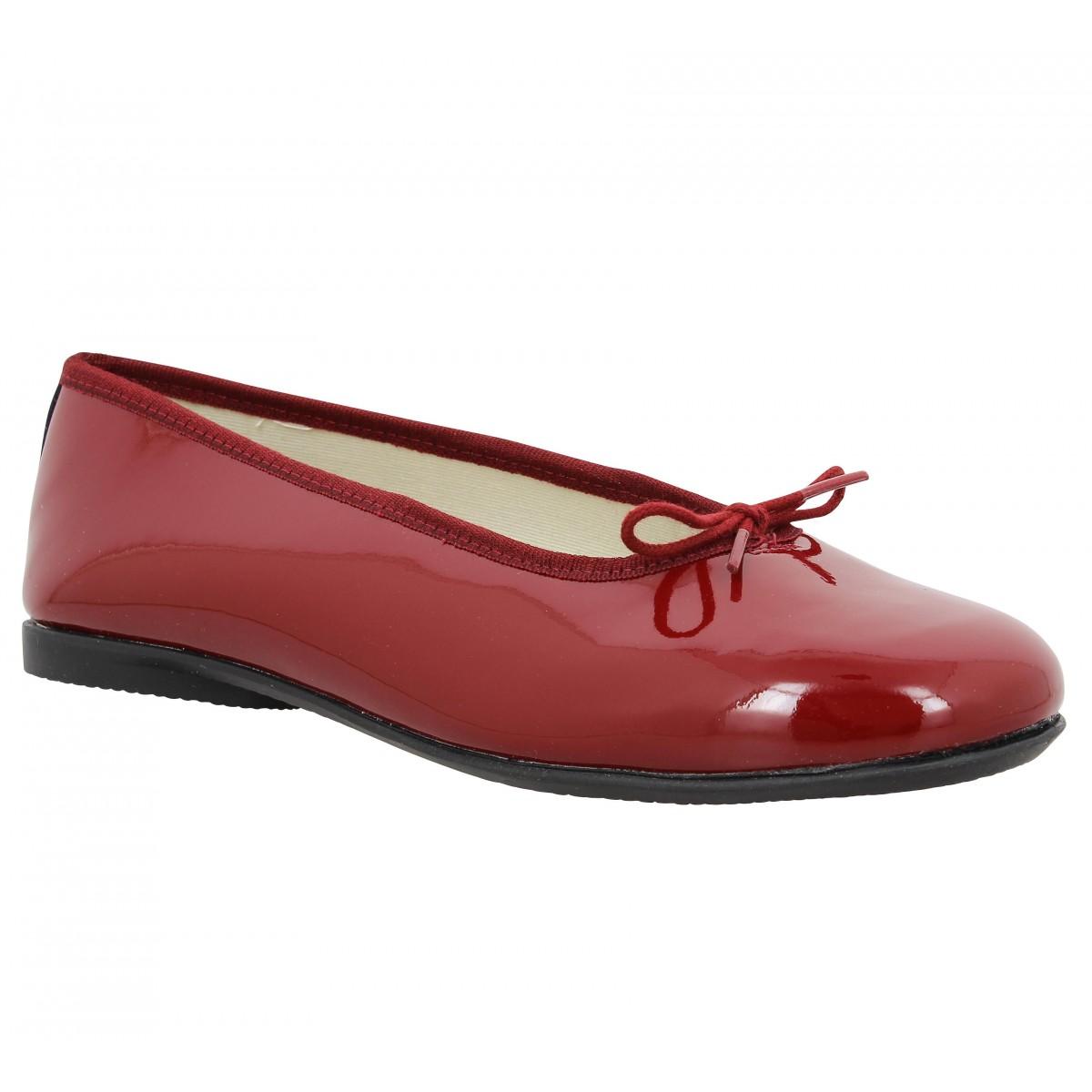Chaussures Hirica Zazie Vernis Femme Rouge Femme Fanny
