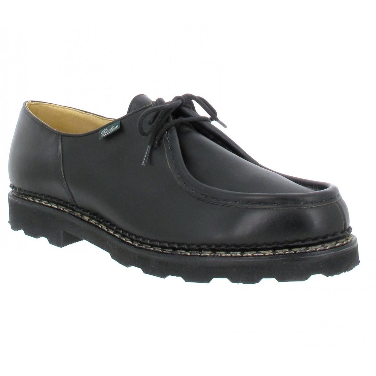 Paraboot Michael Cuir Homme Noir Fanny Chaussures