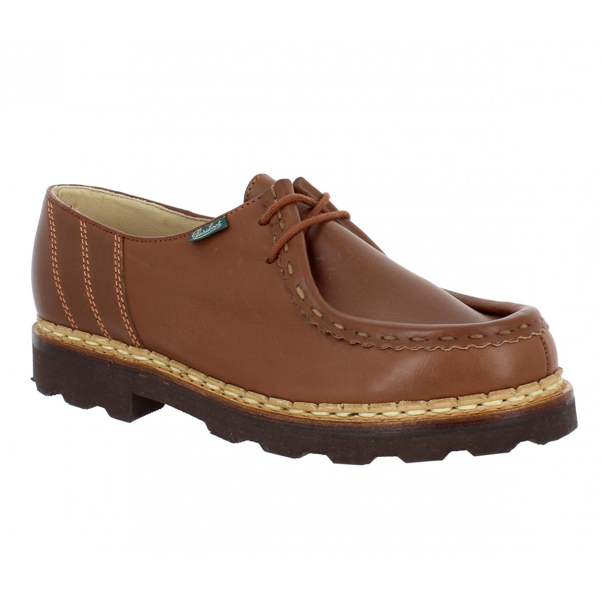 Paraboot Morzine Cuir Homme Marron Fanny Chaussures