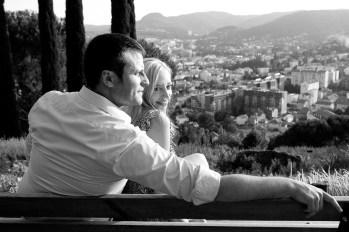 portrait d'un couple à clermont-ferrand