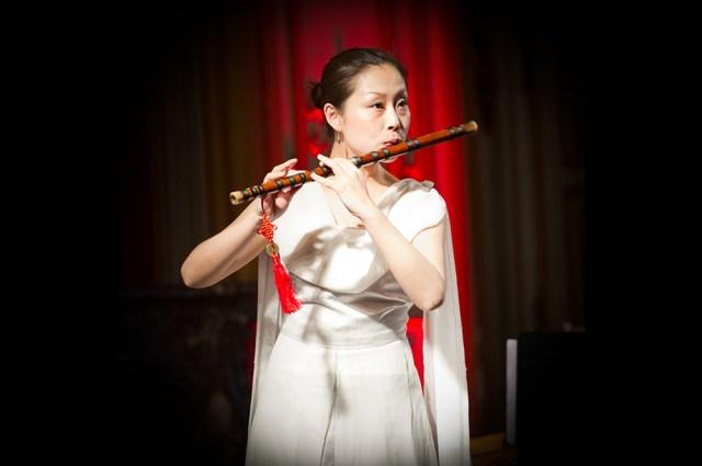 Photo de concert de musique chinoise au musée de l'armée à paris, par un photographe professionnel de clermont-ferrand.