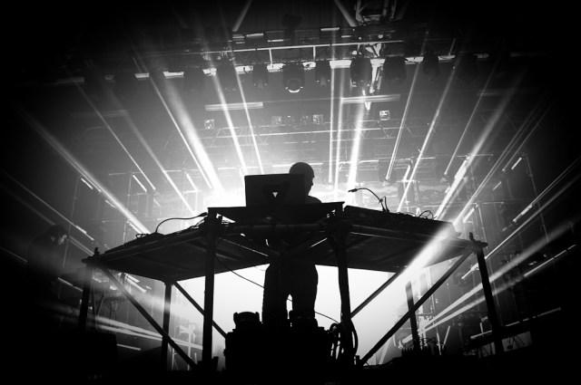 Photographie de concert du groupe Vitalic à Polidôme, europavox 2013 à clermont-ferrand.