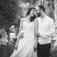 Photographie de couple sur un mariage en auvergne autour de clermont-ferrand par un photographe professionnel.