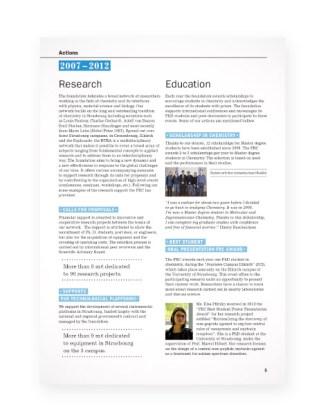Rapport Fondation pour la recherche en Chimie - page5