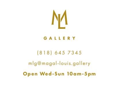 Variante du logo Magal & Louis Gallery