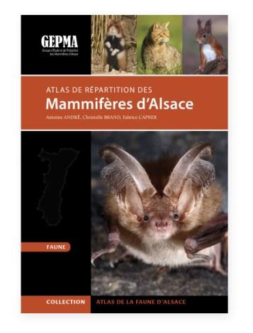 Atlas de repartition des mammiferes d'alsace - couverture