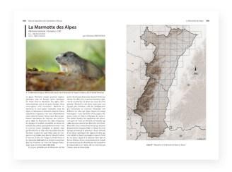 Atlas de repartition des mammiferes d'alsace - page interieures 3