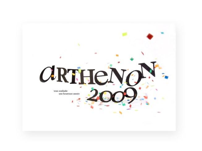 Arthenon Voeux 2009