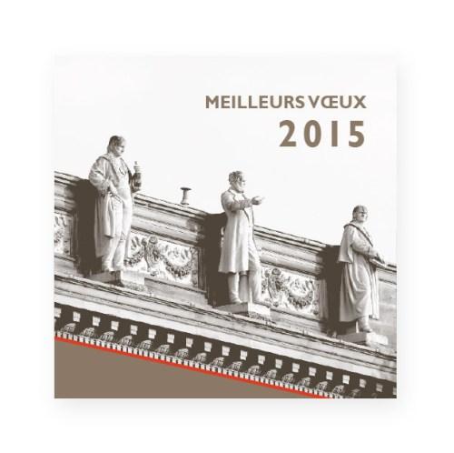 Vœux 2015 Fondation Université Strasbourg