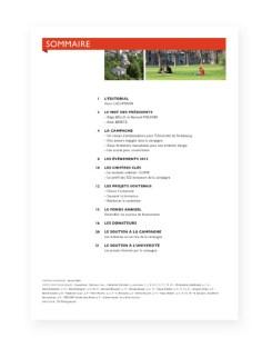 Rapport 2012 Fondation Universite Strasbourg - 1