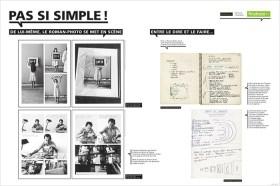 Panneau Exposition Roman Photo Médiathèque André Malraux