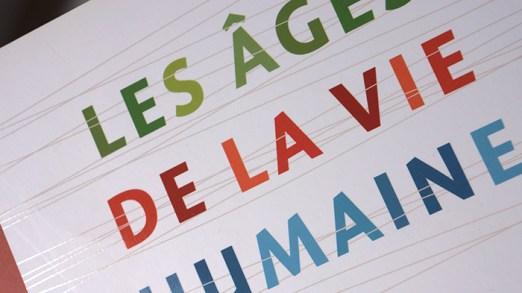 Les âges de la vie humaine - couverture