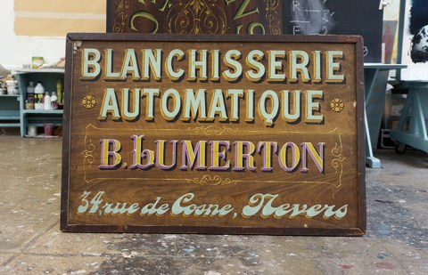Trésor typographique de l'école Blot à Reims