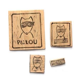 Logo tampon L'armoire de Pti Lou