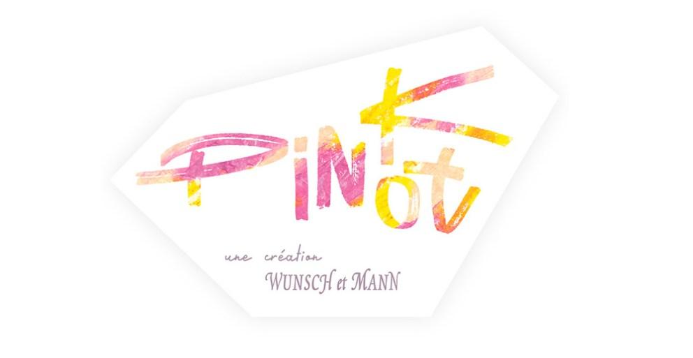 Étiquette du Pink Pinot du domaine Wunsch et Mann