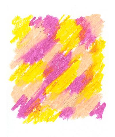 Texture de l'étiquette du Pink Pinot du domaine Wunsch et Mann