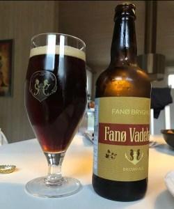 Fanø Bryghus Glas und Bier