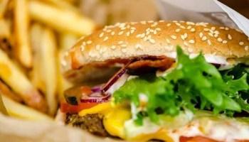 Burger beim Stoppestedet