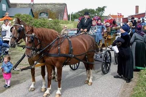 Brautumzug beim Sønderhotag
