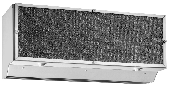 24 inch air curtain drive thru window unit