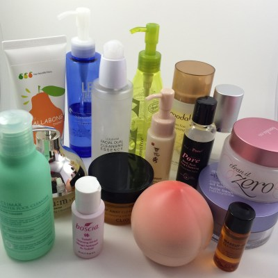 A Review of 15 First-Step Korean Oil (and other) Cleansers
