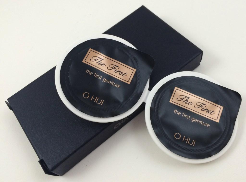 Ohui First Geniture Cream samples