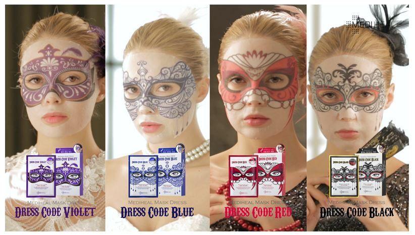 Mediheal Dress Code masks (photo credit: http://www.ebay.com/itm/261882657831)