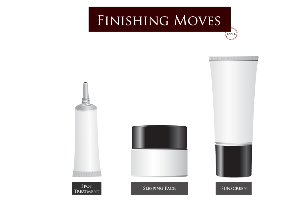 Korean Skincare Routine Order: Finishing Moves on fanserviced-b.com
