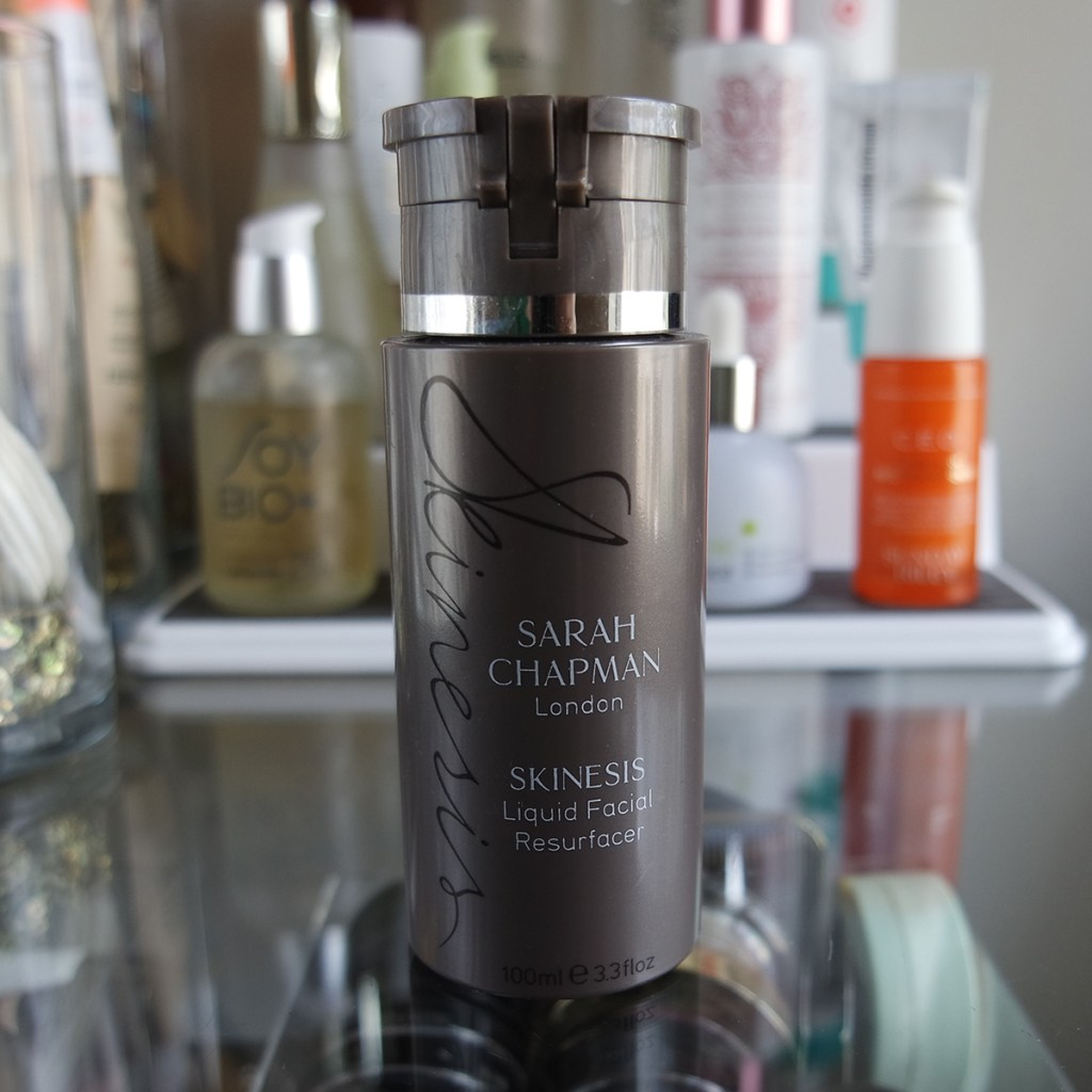 Sarah Chapman Liquid Facial Resurfacer The Hunt for a Good Genes Dupe: 17 Lactic Acid Reviews