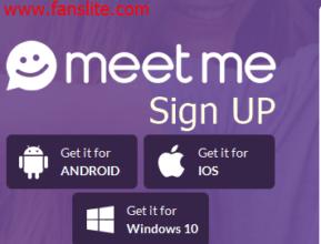Meet me app login