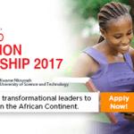 MasterCard Foundation Scholarship 2017