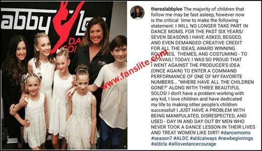 Abby Lee Miller Quitting 'Dance Moms'