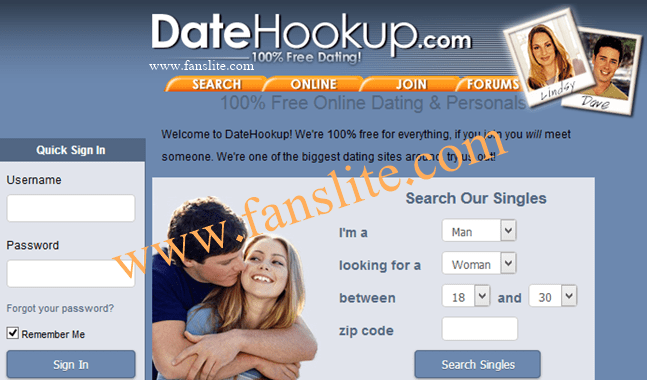 Date hookup com sign in