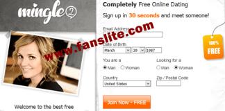 mingle2 dating site login