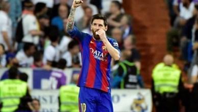 Messi hails Clasico win