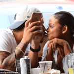Christina Milian steps out with her new man